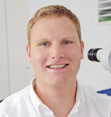 Augenarzt Christoph Eckert