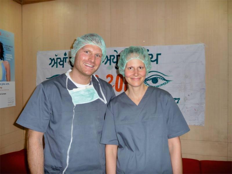 Es war eine schöne aber sehr anstrengende Zeit in Indien. Wir haben unser Ziel erreicht. Wir haben in Indien dieses Jahr über 500 Patienten am grauen Star operiert, viele weitere an anderen Augenkrankheiten. Weitere Projekte sind geplant., wir freuen uns!..:))