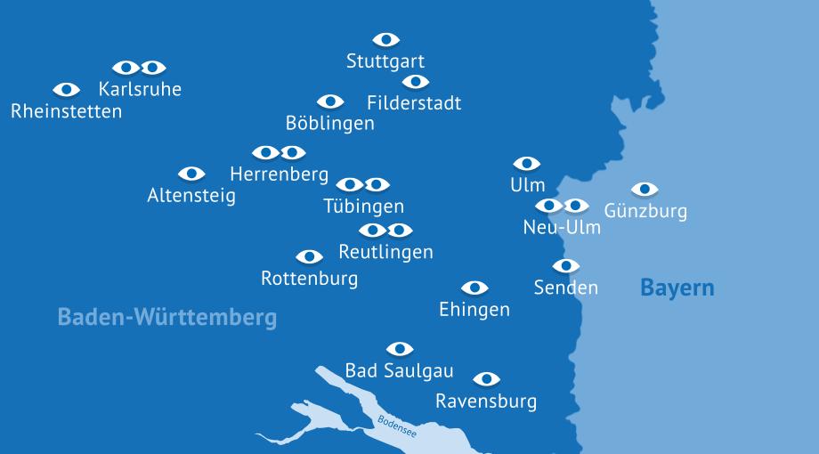 Augenzentrum Eckert Standorte